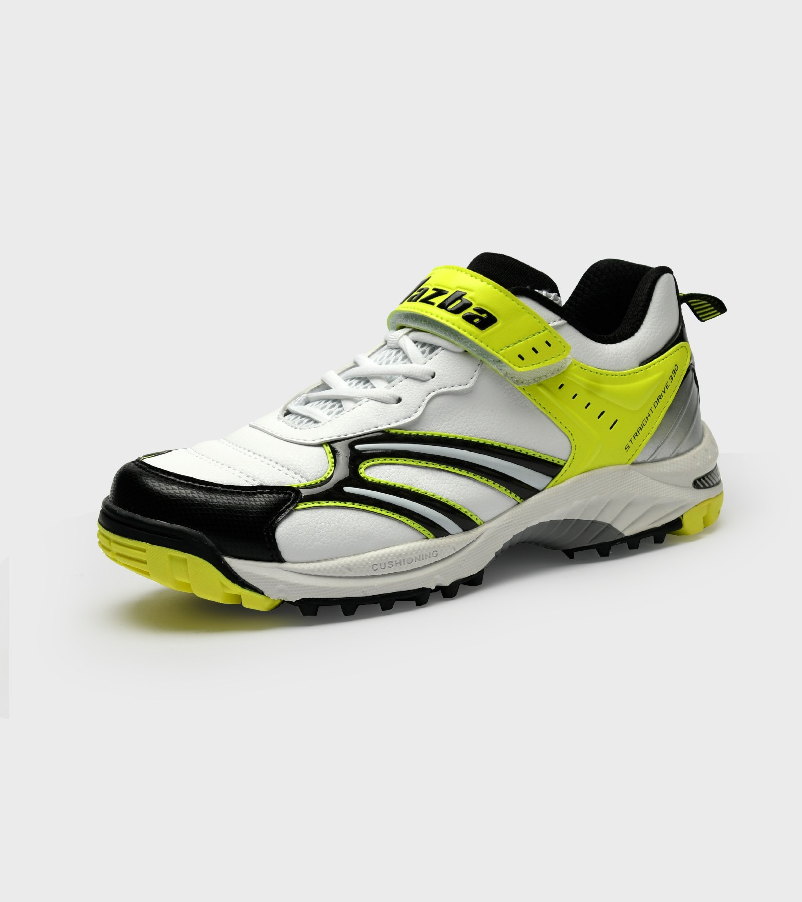 Jazba StraightDrive 330 Mens Cricket Shoes, Yellow ...